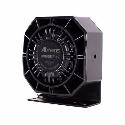 Abrams Mfg Rogue 100 Watt Slim Siren Speaker Dynamax Sa314 Sa315 Feniex