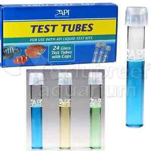 Api Test Kit Glass Tubes
