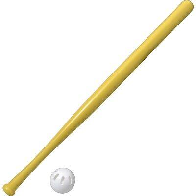 NEW Official Wiffle Ball & Bat Set - Baseball Size, Training, Practice, Whiffle