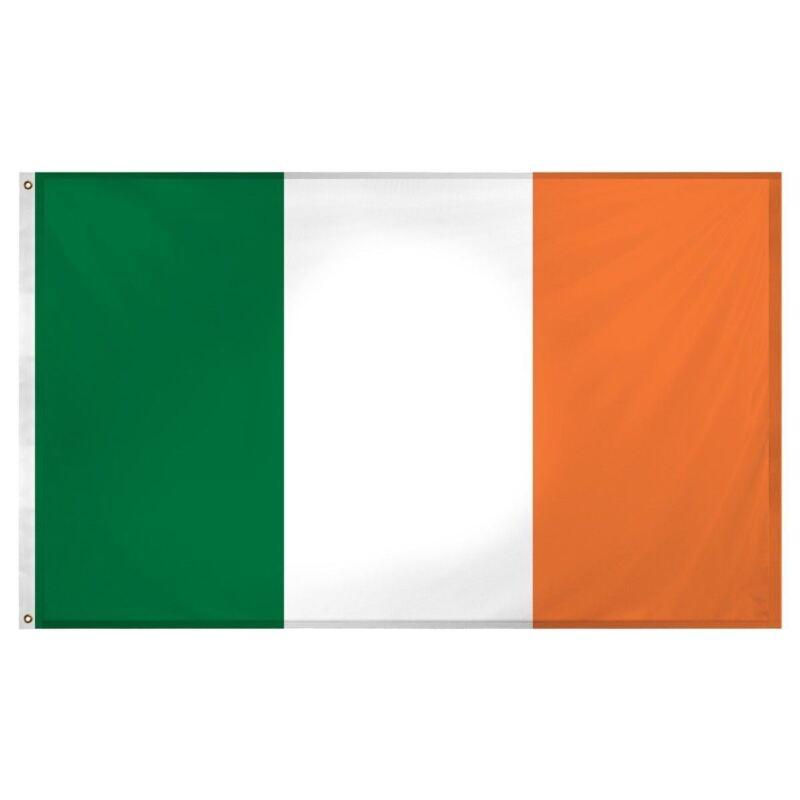 Large Ireland Irish Republic Flag Dublin St Patrick Day Football Rugby Fan 5x3ft