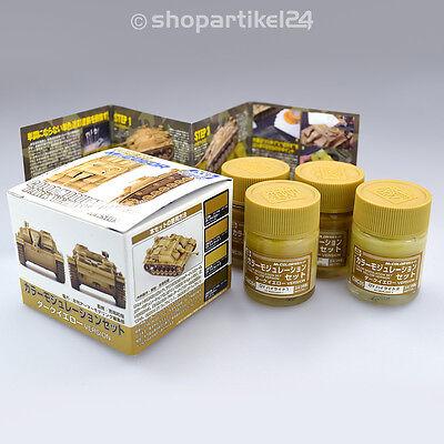 (20,12€/100ml) Mr.Color - Color Modulation Set - Dark Yellow - Mr.Hobby CS582