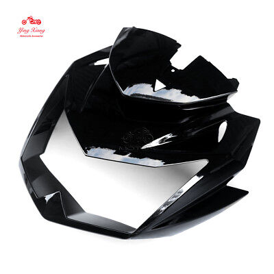 Motorcycle Front Upper Fairing Headlight Cowl Nose Fit For Kawasaki Z750 07-12 for sale  China