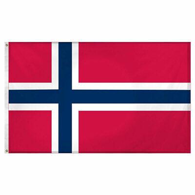 Norway Norwegian Flag 3×5 Polyester Indoor Outdoor Flag Europe EU Banner Décor