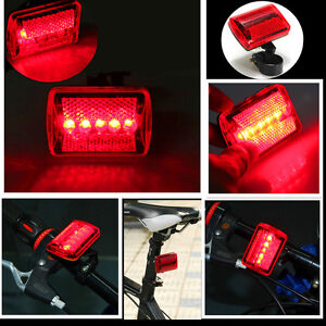 Red-5-LED-Bicycle-Rear-Tail-Light-Bike-Cycle-Warning-Lamp-7-Modes-Super-Bright