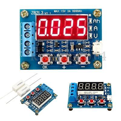 Battery Capacity Meter Discharge Tester 18650 li-ion lithium Lead-acid 1.2-12v