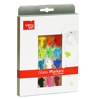 Vacu Vin Glas-Marker Party People NEU/OVP Kunststoff Mehrfarbig