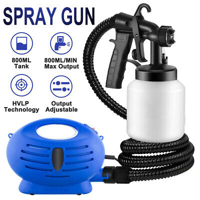 Electric AIR Paint Sprayer Spray Gun for Indoor Fence Wall 800ml Painting Tool