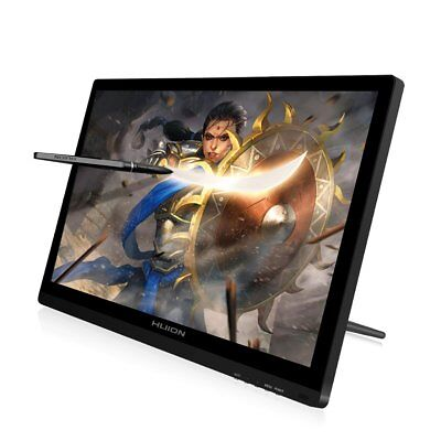 USED Huion KAMVAS GT-191 8192 Pen Display Drawing Monitor Graphic Tablet 19.5''