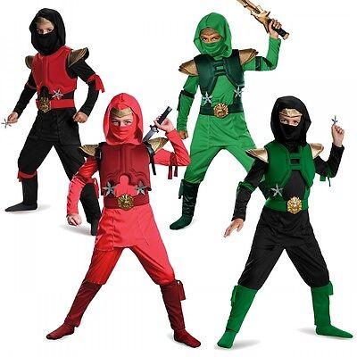 Ninja Costume Kids Ninjago Halloween Fancy Dress - Ninja Costumes Kids