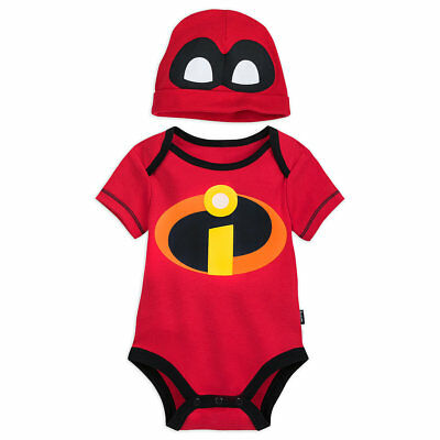 The Incredibles Baby (Baby Bodysuit Jack-Jack Disney Pixar The Incredibles 2 Fun Party Toddler)