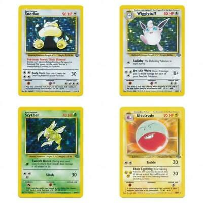 Selection of Non Holo Pokemon Cards Jungle Set 1999 All Near Mint or Better