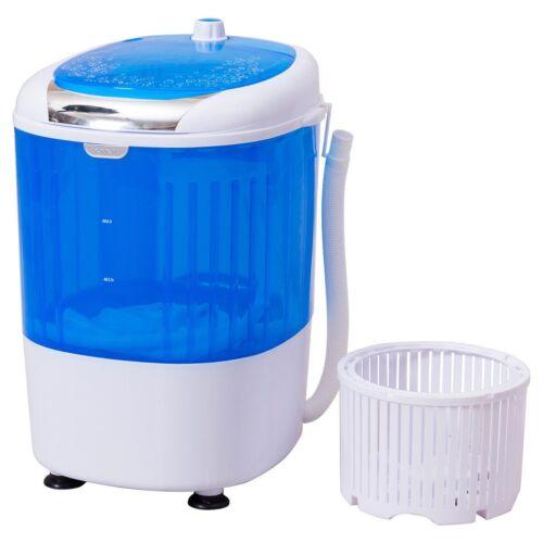 5.5lbs 110V Portable Washing Machine Semi Auto Compact Mini