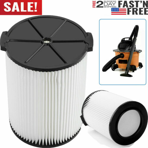 VF4000 Replacement RIDGID Wet/Dry Washable Vacuum Garage Shop Vac Pleated Filter