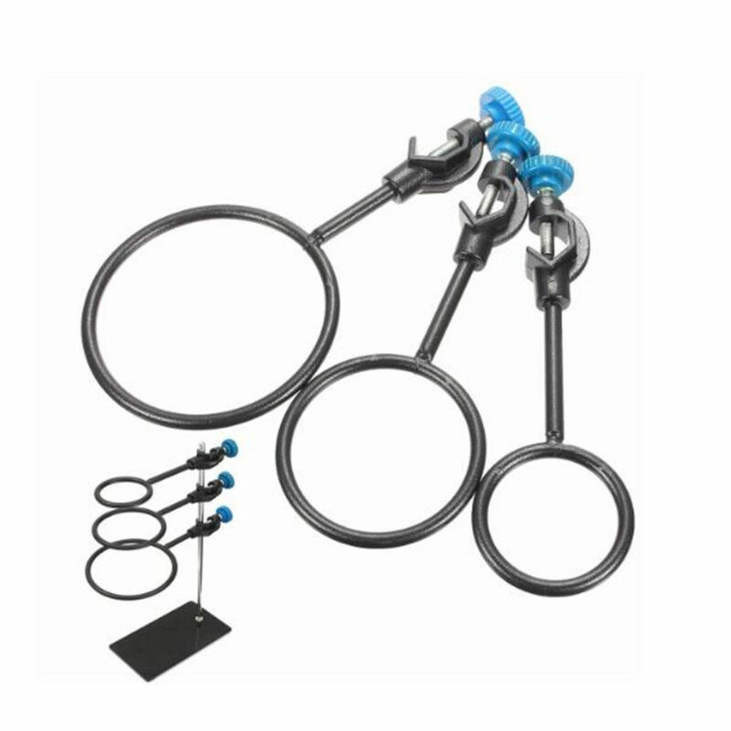 4 Ring Assortment Laboratory Support Ring Set