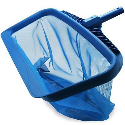 Pool Skimmer Net Heavy Duty Leaf Rake Cleaning Tool Fine Mesh Net Bag Catcher Heavy Duty Leaf Skimmer