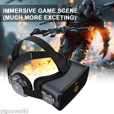 Pimax Virtual Reality 4K 3D Glasses Vr Moive Pc Headset 110 Fov 1000Hz 360  View