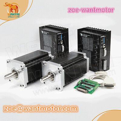 Usa Free Shipwantai 2axis Cnc Nema42 Stepper Motor 4200ozdriver Dq2722ma 220v