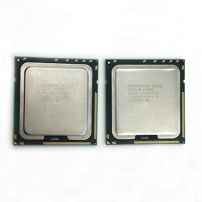 Matched Pair Intel Xeon X5690 3.46GHz 6.4GT/s 12MB 6 Core 1333GHz LGA 1366 CPU