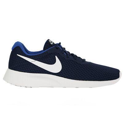 Nike Men's Tanjun Running Shoes Midnight Navy/White/Game Royal 10