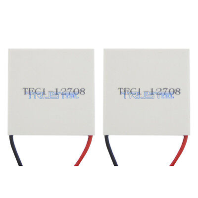 Tec1-12708 Heatsink Thermoelectric Cool Cooler Heating Peltier Plate Module 2pcs