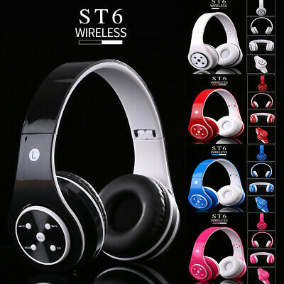 Wireless Bluetooth Noise Cancelling Over Ear Headphone Headset For Kids XmasGift