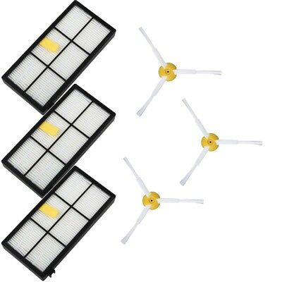 For iRobot Roomba Filters 800 & 900 Series Part Kit 880 890 960 Vacuum Brush