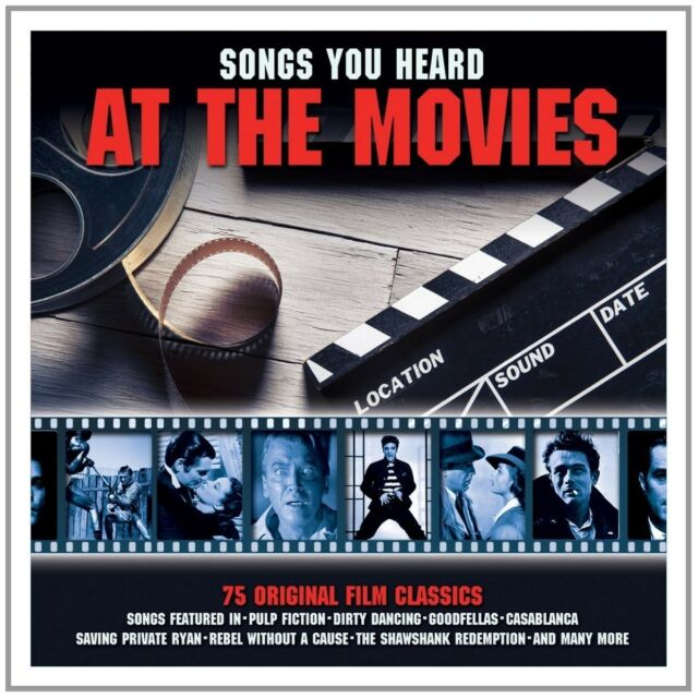 SONGS YOU HEARD AT THE MOVIES feat. Dick Dale, Miles Davis... 3 CD NEU