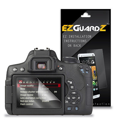 3X EZguardz LCD Screen Protector Skin HD 3X For Canon EOS 750D, EOS Rebel T6i
