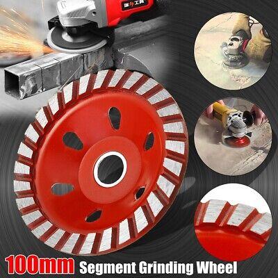 100mm4mm Diamond Grinding Wheel Sanding Disc For Concrete Marble Stone Us Us U