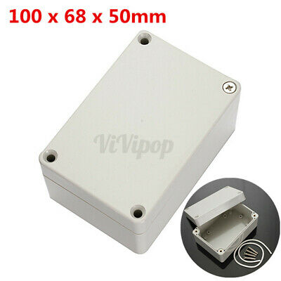 4x2.6x2 Abs Plastic Electronics Enclosure Project Box Hobby Case Waterproof