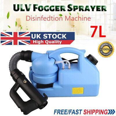 7L ULV Electric Fogger Fogging Machine Disinfection Ultra Low Volume Sprayer NEW