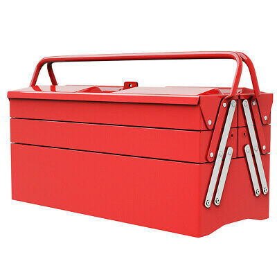 Cantilever Toolbox Portable Tool Box Best Tools Chest Steel Mechanic Garage