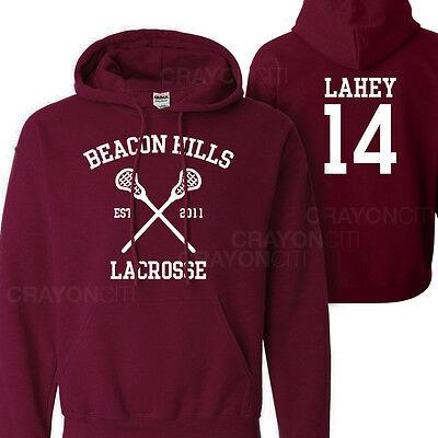 Teen Wolf Beacon Hills Lacrosse Lahey 14 Hoodie Jumper pullover sweatshirt