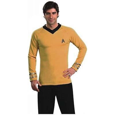 Star Trek Adult Mens Classic Captain Kirk Halloween Costume Party Shirt