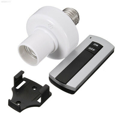 F73B E27 Socket Cap RC Wireless Remote Control Light Lamp Bulb Holder Switch