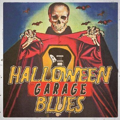 HALLOWEEN GARAGE BLUES   CD NEW!  - Halloween Blues