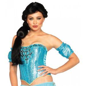 Jasmine Wig Adult Arabian Princess Halloween Costume Fancy Dress