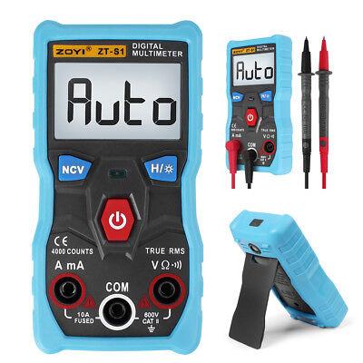 Zt-s1 Digital Lcd Voltmeter Ammeter Ohmmeter Multimeter Volt Ac Dc Tester Meter