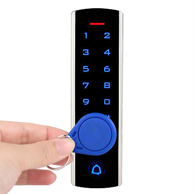 RFID EM Card Waterproof Touch Keypad Door Access Control LED Display Security for sale  Shipping to Nigeria