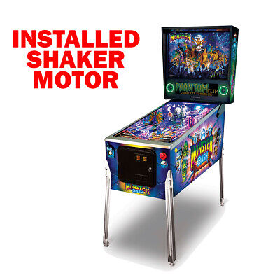Monster Bash Remake Special Edition Pinball with Shaker Motor