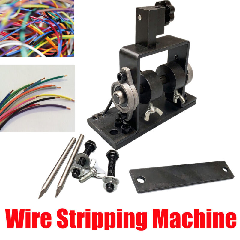 Manual Electric Wire Cable Stripping Machine Blades Portable Metal Recycle Tool