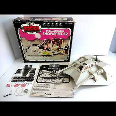 Vintage 1980 Palitoy Star Wars Snowspeeder in Original Box