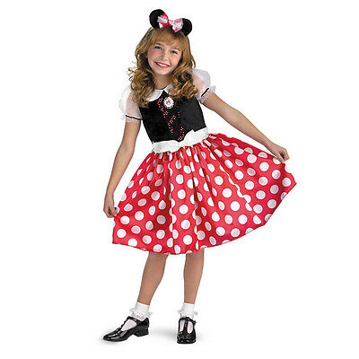Clubhouse Minnie Mouse Classic Child Costume Disguise 5036 (Childs Mickey Mouse Kostüm)