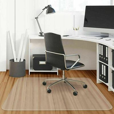 "45"" X 52"" Clear Chair Mat Home Office Computer Desk Floor Carpet PVC Protector"