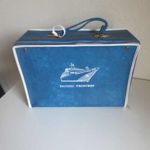 Princess Cruises Pacific Princess Suitcase Travel Case Love Boat FREE SHIPPING!