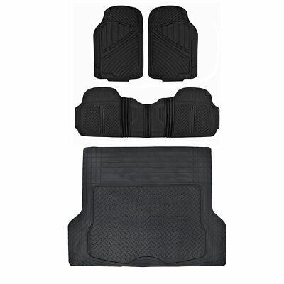 Tailored Black Durable Carpet Floor Mats 4pc Car Mat for Renault Megane 08-16