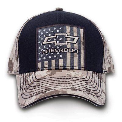 Chevrolet Chevy Truck Digital Tarnfarbe Amerikanische Flagge USA Hut Kappe 9112 - Flagge Hut