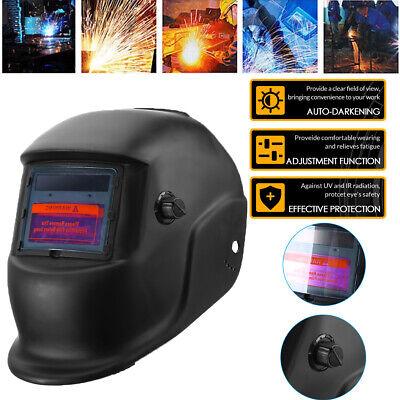 Pro Solar Power Welder Mask Auto-darkening Welding Helmet Arc Tig Mig Weld