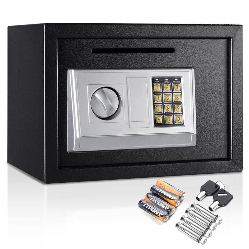 "14"" Digital Safe Box Home Office Hotel Electric Security Cash Jewelry Keypad Gun"