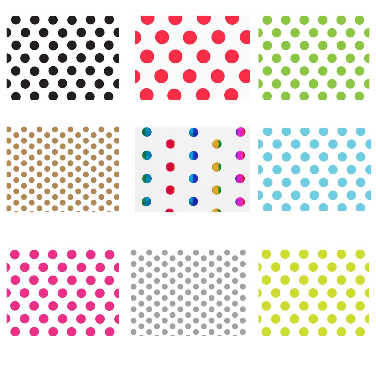 """Stripes Tissue Paper 12 or 24 Sheet Packs Pom Gift Favors 20/"""" X 30/"""""""